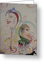 The Baby Maker Greeting Card by Marian Hebert