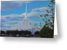The Church Greeting Card by Darrel Froman