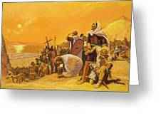 The Crusades Greeting Card by Gerry Embleton