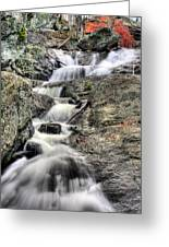 The Falls Greeting Card by JC Findley