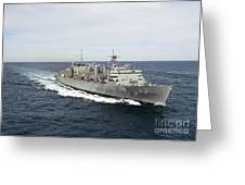The Military Sealift Command Fast Greeting Card by Stocktrek Images