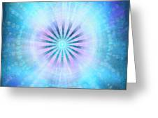 The New Earth Portal Greeting Card by Christine Louise Bryant