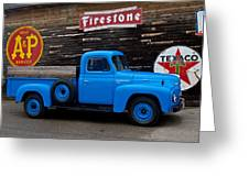 The Old Farm Truck Greeting Card by Wayne Stabnaw