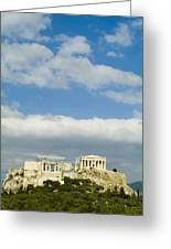 The Parthenon On The Acropolis Greeting Card by Richard Nowitz