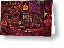The Village Of Light Greeting Card by Marc Parker