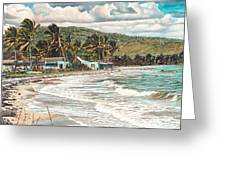 The Water Front   Greeting Card by Gregory Jules