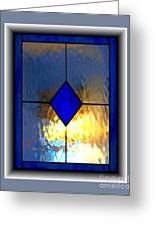 The Window Greeting Card by Dale   Ford