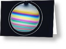 Thin Film Interference Greeting Card by Andrew Lambert Photography