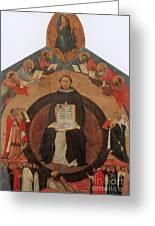 Thomas Aquinas, Italian Philosopher Greeting Card by Photo Researchers