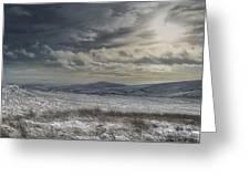 Towards Gradbach Greeting Card by Andy Astbury