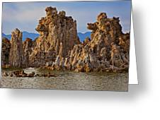 Tufa Mono Lake California Greeting Card by Garry Gay