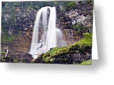 Virginia Falls Greeting Card by Scotts Scapes