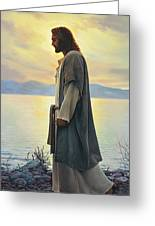 Walk With Me  Greeting Card by Greg Olsen