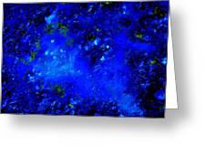 Walking On The Moon Greeting Card by Allen n Lehman