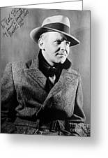 Walter Winchell (1897-1972) Greeting Card by Granger