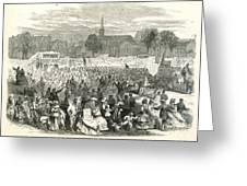 Washington: Abolition, 1866 Greeting Card by Granger