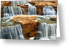 Waterfall Greeting Card by Elena Elisseeva