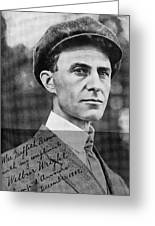Wilbur Wright, Us Aviation Pioneer Greeting Card by Science, Industry & Business Librarynew York Public Library
