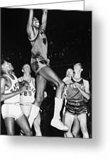 Wilt Chamberlain (1936-1999) Greeting Card by Granger