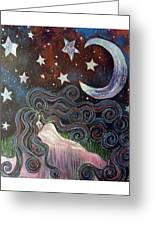 Wonder Of Night Greeting Card by Monica Furlow