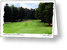 Woodlawn Hole 1  Greeting Card by Enrico Luciano