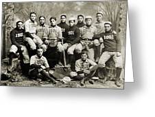 Yale Baseball Team, 1901 Greeting Card by Granger