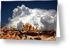 San Rafael Swell Greeting Card by Mark Smith