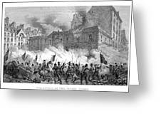 France: Revolution Of 1848 Greeting Card by Granger
