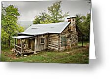 1209-1144 Historic Villines Homestead Greeting Card by Randy Forrester