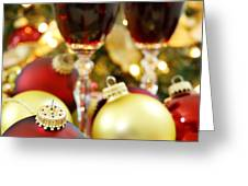Christmas Greeting Card by HD Connelly