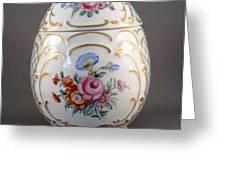 1544 German  Egg Box Greeting Card by Wilma Manhardt