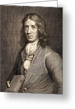 1698 William Dampier Pirate Naturalist Greeting Card by Paul D Stewart