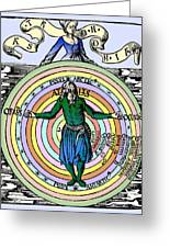 16th-century Astronomy Greeting Card by Cordelia Molloy