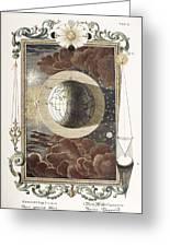 1731 Johann Scheuchzer Creation 4th Day B Greeting Card by Paul D Stewart