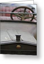 1916 Winton Model 33 Touring Hood Ornament Greeting Card by Jill Reger
