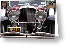 1933 Duesenberg Model J - D008167 Greeting Card by Daniel Dempster