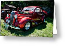 1936 Dodge Greeting Card by Paul Barkevich