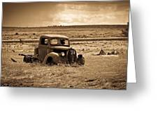 1938 Ford Pickup Greeting Card by Steve McKinzie
