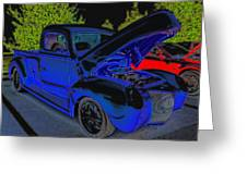 1940 Ford Pick Up Greeting Card by Rebecca Frank