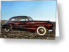 1948 Buick Eight Super Greeting Card by Bill Cannon