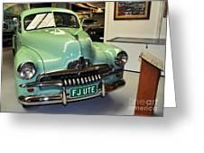 1953 Fj Holden Ute Greeting Card by Kaye Menner