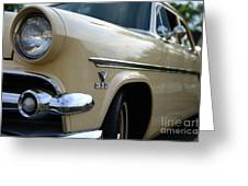 1954 Ford Customline Front End Greeting Card by Paul Ward