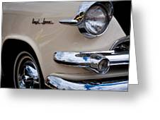 1955 Dodge Royal Lancer Sedan Greeting Card by David Patterson