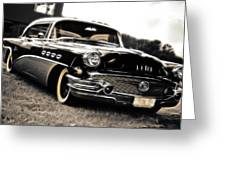1956 Buick Super Series 50 Greeting Card by Phil 'motography' Clark