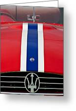 1956 Maserati 350 S Greeting Card by Jill Reger