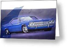1960s Chevrolet Greeting Card by Fred Otene