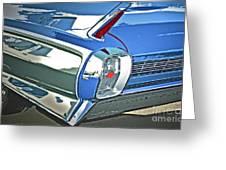 1962 Cadillac El Dorado Greeting Card by Gwyn Newcombe