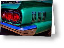 1966 Ford Thunderbird Greeting Card by David Patterson
