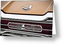 1966 Ford Thunderbird Greeting Card by Gordon Dean II