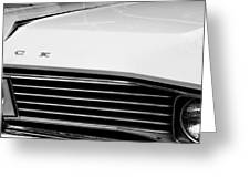 1967 Buick Station Wagon Greeting Card by Michelle Calkins